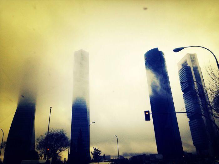 The Mist Mist Mistery Horror Building