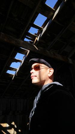 Skylight Barn Colorado EyeEmNewHere Loner Man Profile Ranch Ruins Skylight Abandoned Character Mysterious Rurex Sunglasses