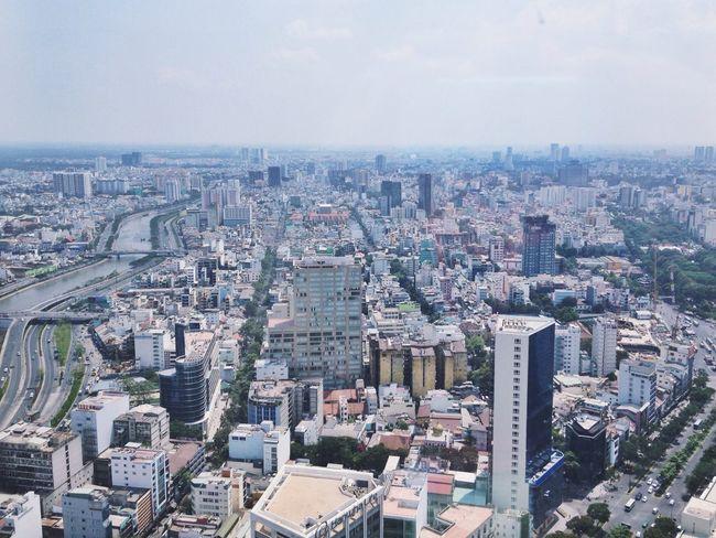 Bitexcotower Bitexco Tower Bitexco Panorama Hochiminhcity Hochiminh Hochiminh City Saigon Saigon City View City City Street Houses House Town