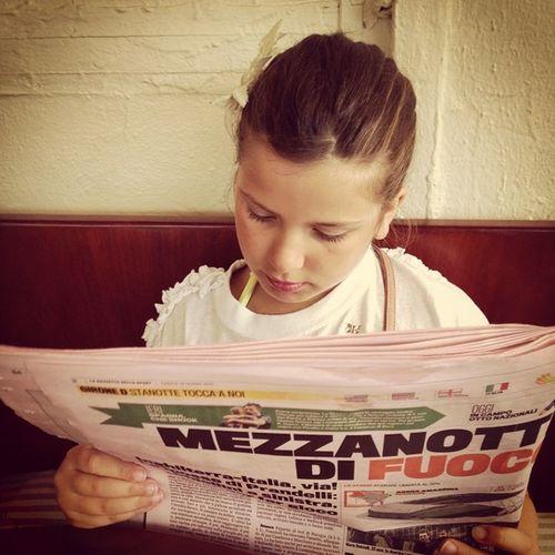 Buongiorno! Cosa dice la #Gazzetta oggi? #mondialibrasile #lifelessordinary #ilovemydaughter #ameilcalciononpiace #Brasil2014 #WorldCup