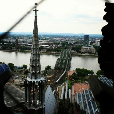 Cologne Köln Kolle Dom rhein aussicht turm