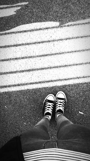 Blackandwhite Photography Black & White Lifeinpictures Shoe Shadow Day Picture Footwear Road Lovephotography