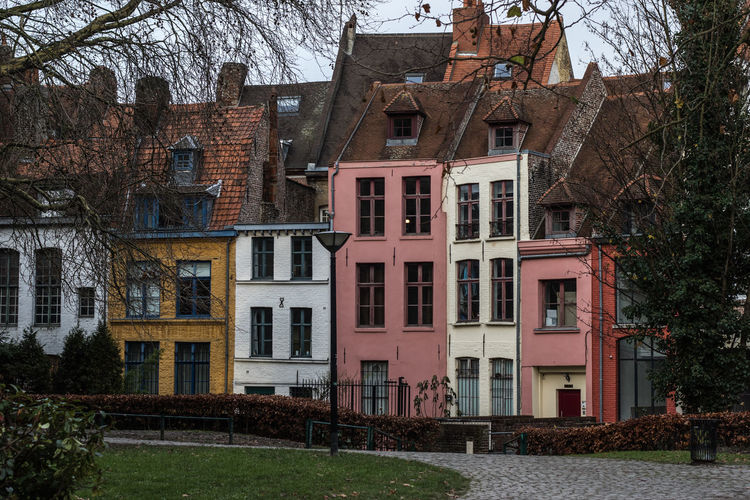Lille, France France Lille Architecture Building Exterior Built Structure City Day House No People Outdoors Residential Building Tree Window