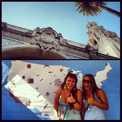 So much earthiness yesterday. Who knew SD has the largest earth day fair in the world? Earthdayfair Plantingsometrees Lovemesomeearth Balboapark adventures with @ruuhhhh