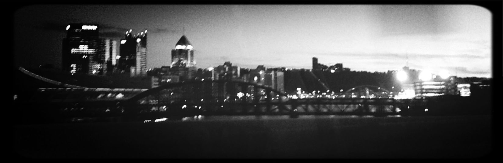 Driving Into The City
