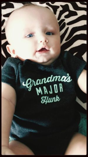 Everett Lewis Blake. 6 months old First Eyeem Photo Cutest Baby Ever My Baby I Love Him
