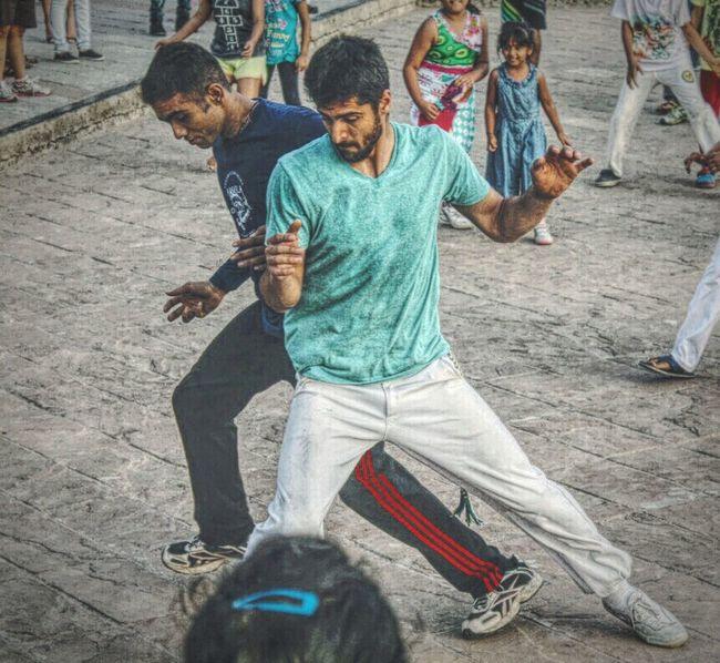 CM Maculele and aluno Corisco at Carter Road Capoeira Capoeiraindia Martial Arts Love Life Motivation