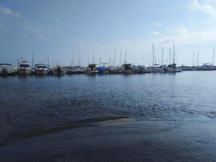 Costa Brava Port De Blanes Blanes Water Nautical Vessel Harbor Sea Yacht Moored Commercial Dock Sailing Ship Sailboat Beach
