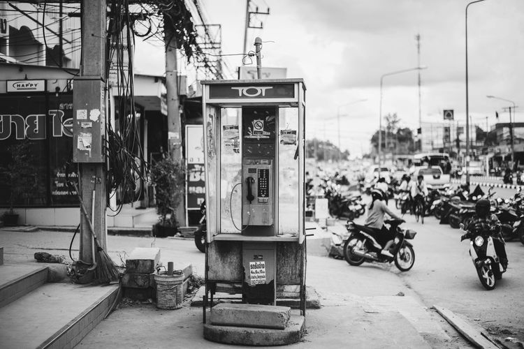 Alone in the city Payphone Payphoneography Thailand First Eyeem Photo