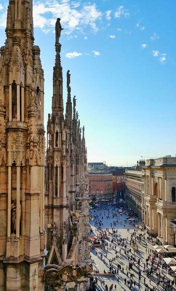 Duomo Di Milano Against Sky