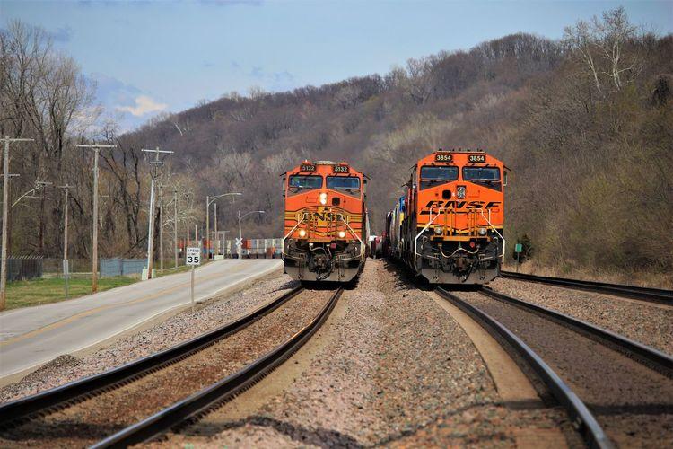 BNSF orange and