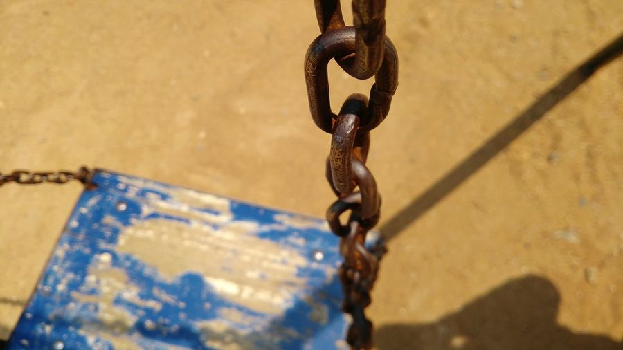 See-saw Chain Chains Seesaw Seesaw Game See-saw EyeEm Selects Shadow Metal Chain Close-up Pulley Hook Latch Fishing Hook Rope Tied Up Tied Stay Out My Best Photo