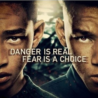 I watched this movie today and damn was it epic ✌?? Afterearth Willsmith JadenSmith