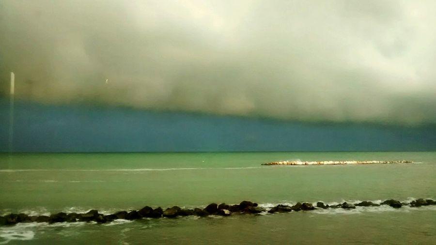 Adriatic Sea Adriatico Marche Italy Italia Sea And Sky Sea Glitch
