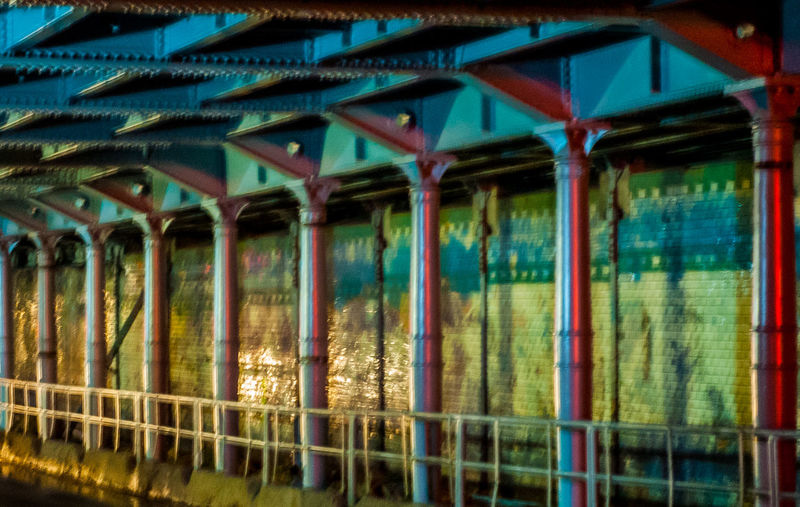 Old bridge See The Light No People Day Architecture Outdoors Nature Illuminated Light Nikon Blue EyeEmNewHere City Street Night Built Structure Architecture Transportation Train Station Train Travel Destinations Travel