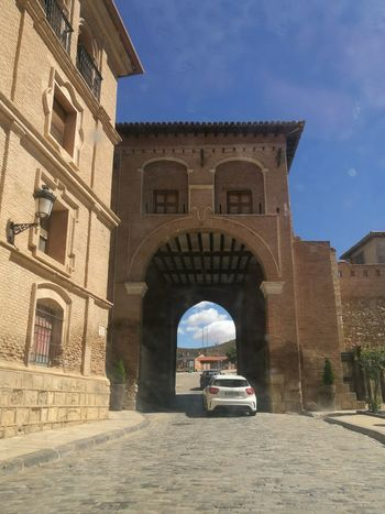 Arch Architecture Travel Destinations Building Exterior Vacations Built Structure Outdoors Day Sky No People City Daroca Mudéjar Style Mudéjar En Zaragoza