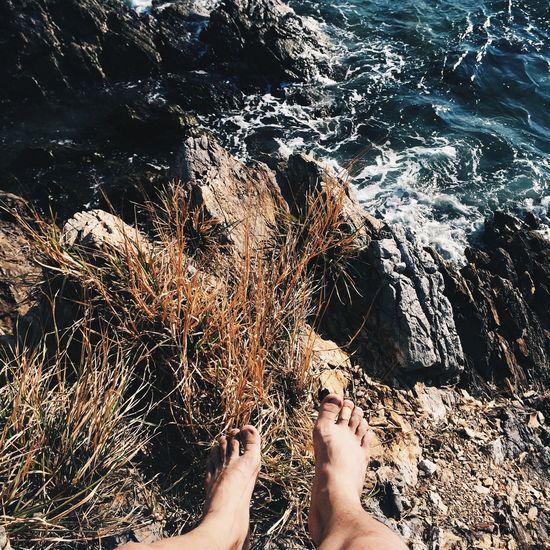 Vietnam Sea Ocean Landscape Rock