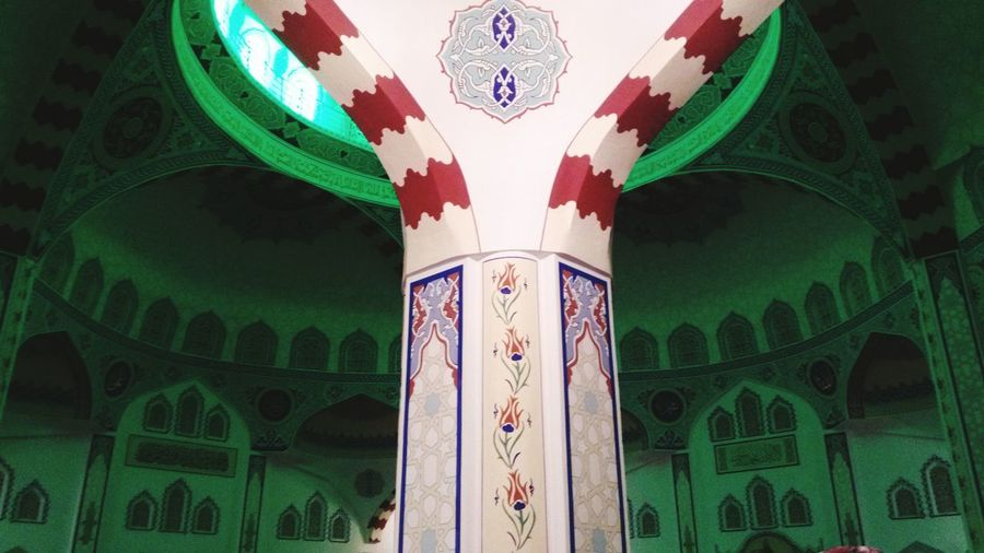 Mosque Islamic ISLAM♥ No People Indoors  Day Close-up Indoors  Islam Architecture