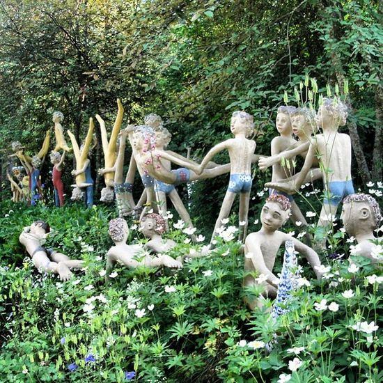 Parikkala Sculpture Sculpturepark ParikkalanPatsaspuisto horror упоротость