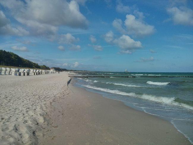 Sunshine Strand Guten Morgen Sturm