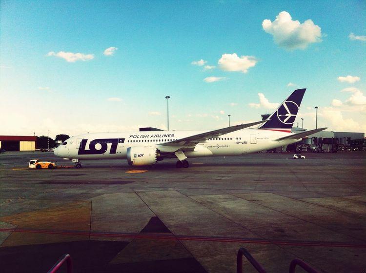 Dreamliner 787 Waw