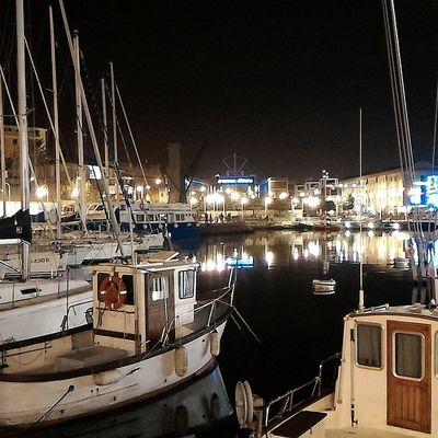 Night Marina Yacht Expo Genova Illuminated Cityscape Night Photography Night Light City Lights Night City City Porto Panoramaview