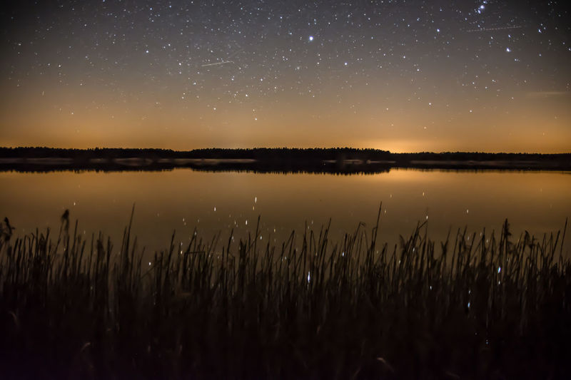 Space And Astronomy Lake Star - Space Beauty In Nature Nature Scenics Night Moon Astronomy Outdoors Astrology Sign No People Reflection Nature Photography Nature_collection Landscape_collection EyeEmNatureLover Star Trail Milky Way Constellation Landscape Beauty In Nature Romantic Sky Sky Tranquil Scene Water View