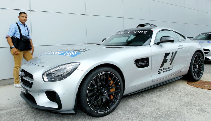 Mercedes Safety car at Sepang International Circuit, Malaysia. Automobile Industry First Eyeem Photo Malaysia Mercedes Paparazi People Race Safety Car Sepang Go Higher