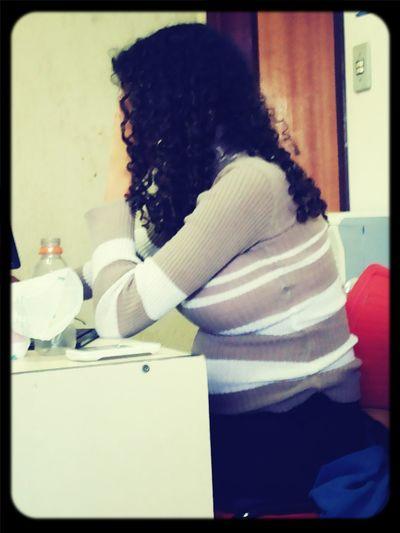 Concentrada no jogo.. :D