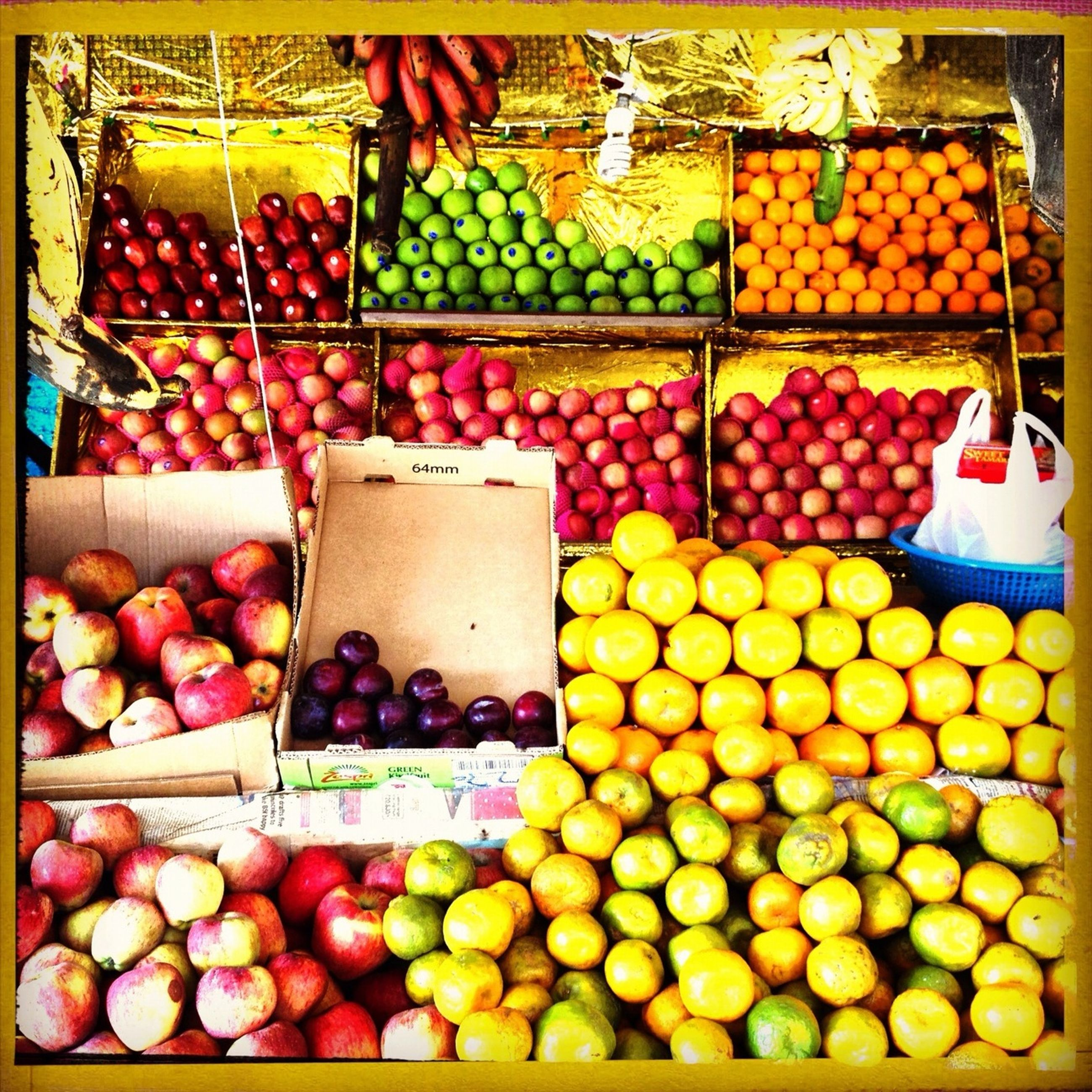 food and drink, for sale, retail, food, large group of objects, market stall, market, abundance, fruit, healthy eating, freshness, choice, variation, display, sale, transfer print, still life, indoors, consumerism, arrangement