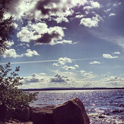 Utsikt från dagens kontor. Fotose Foto H älsingland Delsbo dellenbygden Dellen Norrdellen