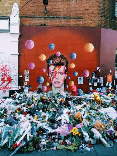 David Bowie memorial, Brixton David Bowie