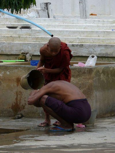 Monk  Monks Traditional Tradition Inle Lake Inle Lake, Shan State Myanmarphotos Myanmar Burma