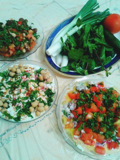 فطور أكلات شامية Syrian Food الرياض