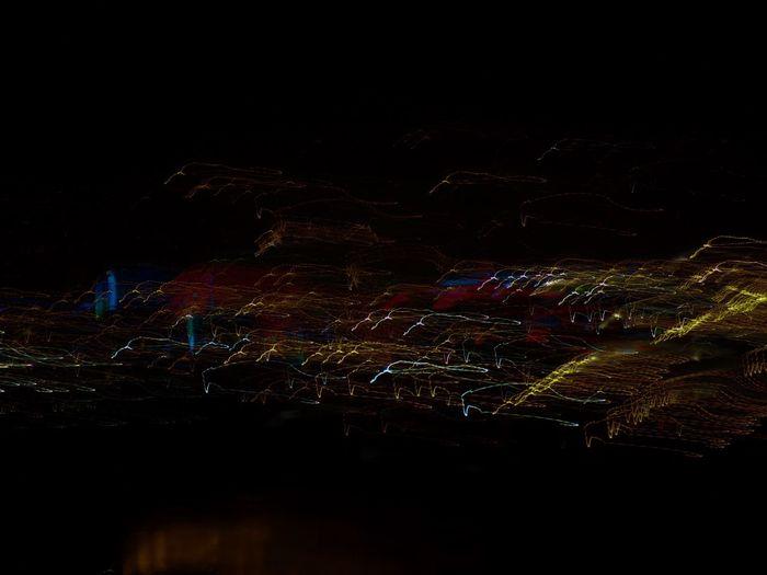City City Lights At Night Fromhotelroom HotelGrandeBretagne Light Light Movement Night Night Lights Nightphotography No People Photoshop Edit