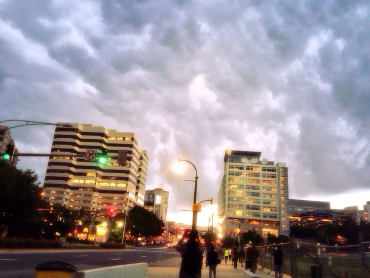 Silverspring Downtown Storm Clouds First Eyeem Photo