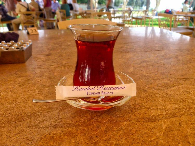 Apple Tea Break Close-up Day Drink Drinking Glass Freshness No People Pause Table Tea Topkapi Palace Topkapı Sarayı Turkish Tea