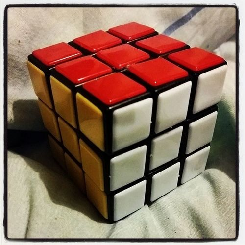 Guess what the boys got for Xmas ... and guess who's been playing with them lol :P Rubixcube Xmas