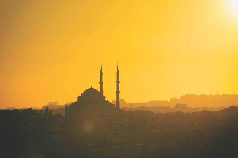 伊斯坦布尔黄昏