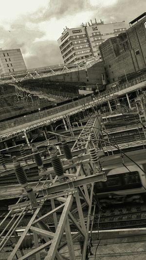 Bnw_friday_eyeemchallenge Train Station Birmingham New Street Birmingham UK Leading Lines Tadaa Community EyeEm Gallery Architecture_bw Architectural Detail Architecture_collection Monochrome Blackandwhite Black&white Blackandwhite Photography