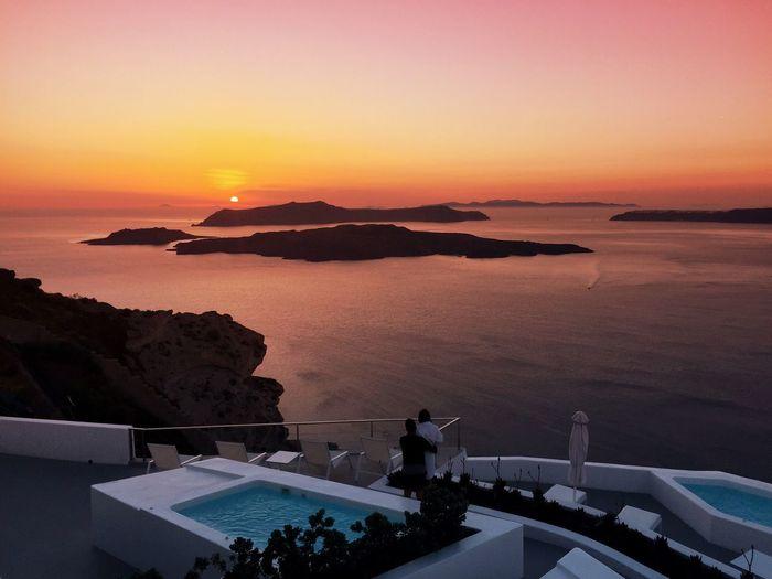 The Great Outdoors - 2015 EyeEm Awards Cyclades santorini, caldera Oia Oiasunset Greece Caldera