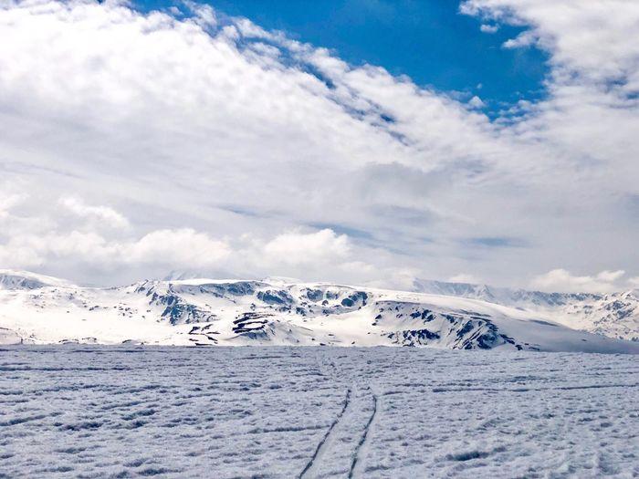 Cloud - Sky Winter Snow Cold Temperature Beauty In Nature Scenics - Nature Sky