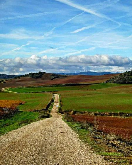 SPAIN Travel Scenery Adventure CaminodeSantiago Hike Hiking Camino Nature Ontopoftheworld Santiago Europe BuenCamino Landscape Theway Mountains Mountain Path Cloudy Clouds Cloudysky View Walk Walking Thewayofstjames thewaytosantiago theway view bluesky blueskies thatskytho caminofrances
