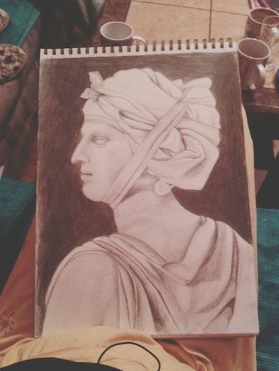 Drawing Art Jacques Louis David Portrait