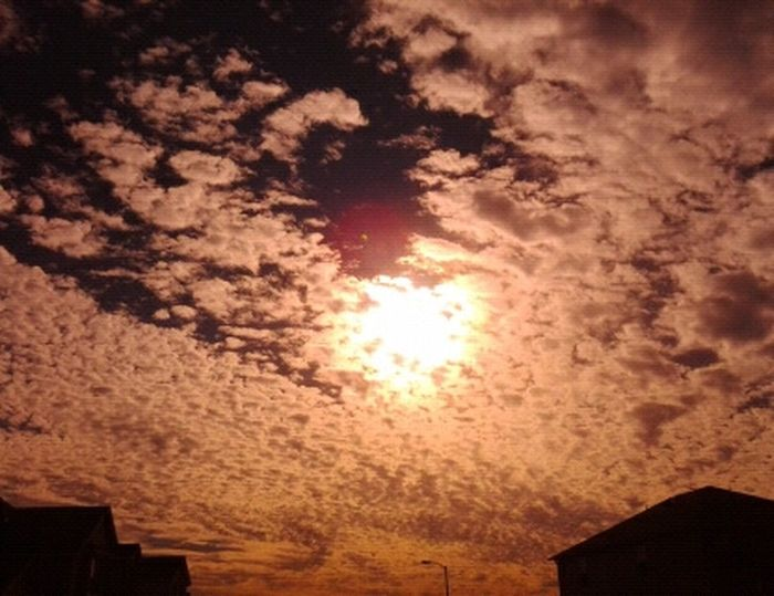 a badass picture i took NO AFFECT Clouds Sky