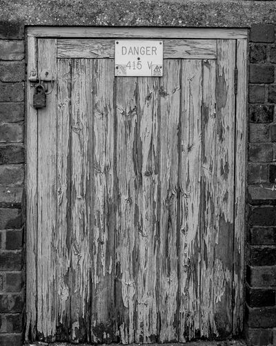 Electricity sub station door, Railway Terrace, Rugby, Warwickshire Substation Industrial Architecture Industrial Landscapes Monochrome FUJIFILM X-T10 Black And White Rugbytown Rugby Warwickshire