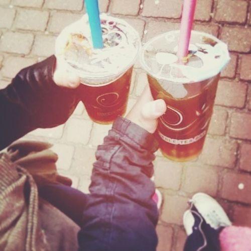 Hanging Out Love Friend Bubble Tea