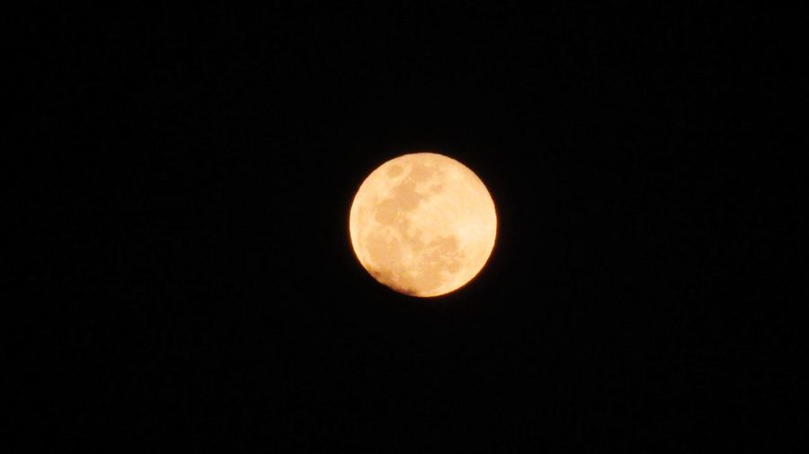 Copy Space Moon Night Full Moon Nature Astronomy Beauty In Nature No People Scenics Outdoors Moon Surface Planetary Moon Sky