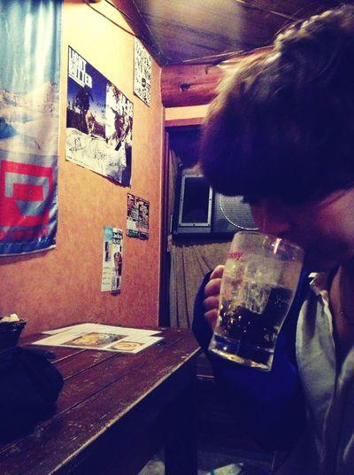 Drinking!