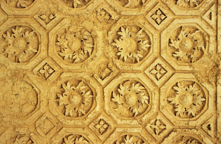 Palmyra before the civil war. Antiquity Baal Ceiling Cella Close-up Greco-Roman Architecture Hellenistic Antiquity No People Palmyra Palmyra Ruins Pattern Roman Antiquity Ruins Syria  Tadmor Temple Temple Of Bel
